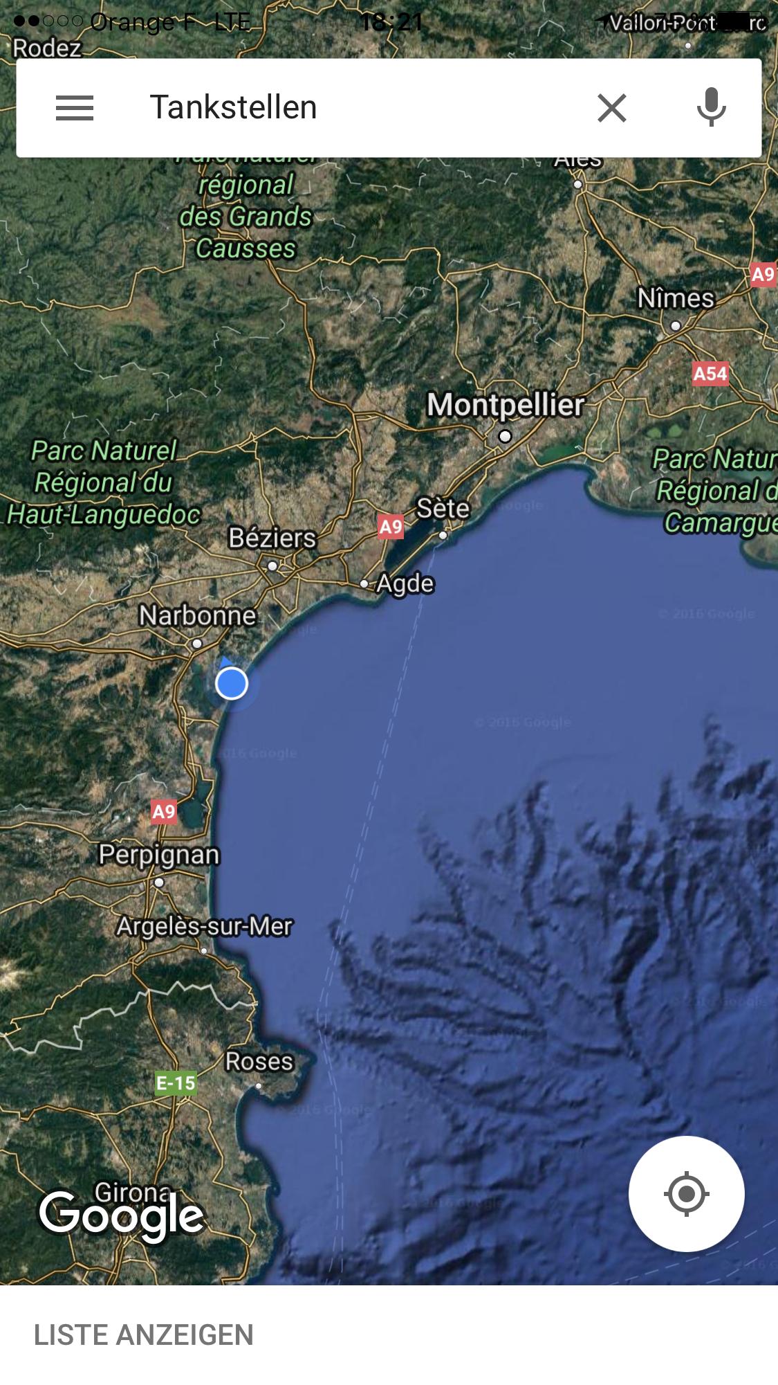 Küstengebiet Am Mittelmeer